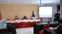 Sosialisasi P4GN oleh BNNK Payakumbuh dengan wartawan di Payakumbuh dan Kabupaten Lima Puluh Kota.