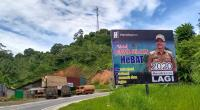 Baliho 2020 Hendrajoni Lagi terpasang di Pessel