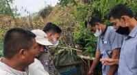 Lokasi penemuan bayi di Nagari Air Dingin, Kabupaten Solok