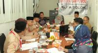 Kwarcab Pramuka Kota Solok Rapat Pembentukan Saka Adyasta Pemilu dengan Bawaslu Kota Solok