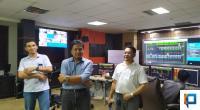 GM PLN UIW Sumbar Bambang Dwiyanto (tengah) saat memberikan arahan terkait kesediaan listrik di Sumbar