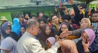 Nasrul Abit saat di pengungsian Wamena