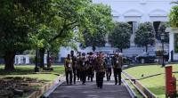 Presiden Jokowi saat membuka APKASI Expo