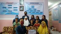 Penyerahan donasi dari Classy Corp untuk tiga panti asuhan di Padang, sebagai salah satu bentuk CSR perusahaan