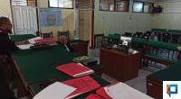 Proses sidang perkara pidana dilakukan secara online di Pengadilan Negeri Payakumbuh