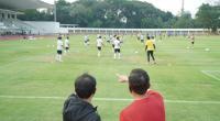 Ketum PSSI pantau latihan Timnas Indonesia