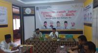 Zuldafri Darma menyampaikan visi misi di Partai PKS