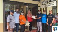 Komunitas Peduli Sosial Kemanusiaan Luak Limopuluah salurkan bantuan Dan donasi kepada Panti Jompo Jasa Ibu di Situjuah.