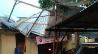 Salah satu bangunan yang di Mapolsek Bayang-Pessel