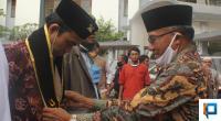 Zainal Abidin sambut kedatangan Ustaz Abdul Somad di Kampus Universitas Fort de Kock Bukittinggi