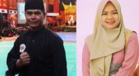 Dua pelatih serdadu Kota Solok, Taufik dan Finda Pratiwi