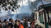 Peristiwa kebakaran terjadi di Nagari Bukik Tandang, 4 rumah hangus dan 1 orang meninggal