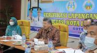 Wali Kota Solok, H. Zul Elfian menyampaikan ekspos terkait upaya mewujudkan Kota Layak Anak