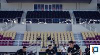 Pemain PS Sleman saat latihan di Stadion Manahan Solo beberapa waktu lalu
