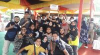 Group randai Gombang Alam usai ditetapkan sebagai 5 peserta terbaik festival Randai se Sumatra Barat tahun 2020