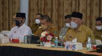 Gubernur Sumbar Mahyeldi Ansharullah bersama Wagub Sumbar Audy Joinaldy
