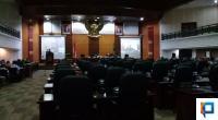 Gubernur Sumatera Barat saat ekspos hasil PSBB I,II, III dan persiapan new normal