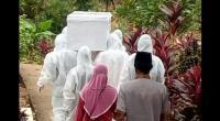 Ilustrasi pemakaman pasien COVID-19