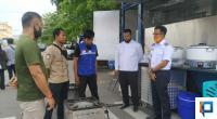 Wakil Wali Kota Payakumbuh Erwin Yunaz didampingi Kasi PRJS Finto Hanyani Putra.