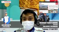 Webinar Safety Riding Honda Hayati