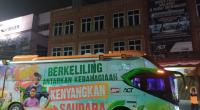 Humanity Food Bus ACT, Distribusi Pangan Bergizi Setara Hotel Bintang 5 Menuju Sumatera Barat