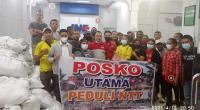 Ikatan Pemuda Flobamora (IPF) Nusa Tenggara Timur (NTT) yang berada di Kota Padang, Sumatera Sumbar (Sumbar) saat mengirimkan bantuan