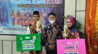 Duta GenRe Solok Selatan Muhammad Irfan Monaf dan Rihadalul Aisyah Bersama Ketua Forum GenRe Sumbar Muhammad Ikhsan