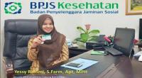 Kepala BPJS Kesehatan Cabang Bukittinggi, Yessy Rahimi