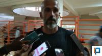 Pelatih kepala PSS Sleman Eduardo Perez Moran