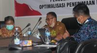 Rapat monitoring dan evaluasi Satgas wilayah IX KPK RI dengan Pemko Solok di Kota Sawahlunto.(Ist)