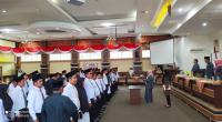 Ketua KPU Kab. Solok, Ir. Gadis melantik 70 PPK untuk Pilkada 2020