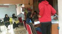 Calon anggota PPS yang mendaftar ke KPU Tanah Datar