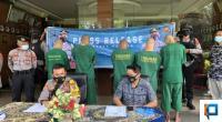 Press Release Penangkapan Pelaku Skimming ATM di Padang
