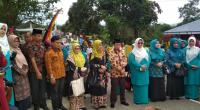 Tim Penilai Kelompok Dasawisma tiba di Jorong Sungai Ameh, Nagari Saruaso