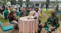 Kegiatan komunikasi sosial yang digelar Kodim 0307 Tanah Datar di Makodim setempat
