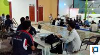 Suasana Buka Puasa Dinas Kominfo Solsel dengan Wartawan di Rindu Alam Golden Swimming pool and Cafe