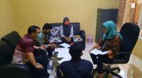Rapat pleno Ketua dan Komisioner Bawaslu Kabupaten Solok