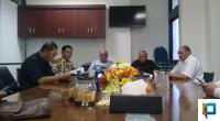 Fraksi Demokrat saat mengajukan hak interpelasi ke pimpinan DPRD Sumbar, Selasa, 21 Januari 2020