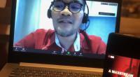 Vice President Digital Lifestyle Telkomsel Nirwan Lesmana saat memaparkan serial film horor orisinal terbaru yang berjudul