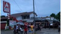 Bangunan di Mamuju ambruk akibat gempa berkekuatan 6,2 Jumat 15 Januari 2021