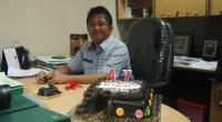 Foto kenangan Asdian ketika menjabat Kepala Biro Humas PT Semen Padang