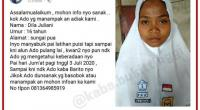 Dila Juliani, Gadis Yang Hilang