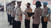 Upacara Serah Terima Jabatan di Mapolresta Padang