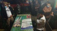Nasrul Abit berdialog dengan masyarakat Garabak Data