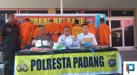 Press Release Operasi Antik Singgalang 2020 di Mapolresta Padang