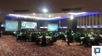 Rapat Koordinasi Persiapan Pilkada DPW PPP Sumbar di Kyriad Bumiminang Hotel Padang, Rabu (1/7/2020).