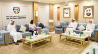 Pertemuan PSSI dengan Federasi Sepak Bola Uni Emirat Arab (UAE FA) di Dubai