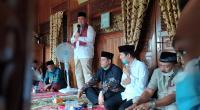 Calon Gubernur Sumbar Nasrul Abit, Calon Wali Kota Solok Reinier dan Wakilnya Andri Maran safari politik di Rumah Gadang Reinier Datuak Mangkuto Alam, Minggu, 18 Oktober 2020