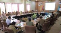 Rapat koordinasi persiapan pelantikan Wako dan Wawako Solok