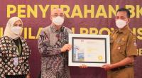 Penghargaan untuk Kota Padang.
